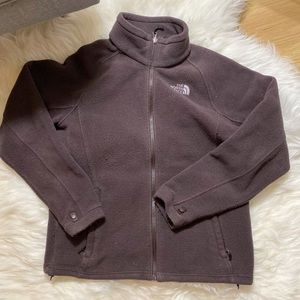 The North Face Jackets & Coats - North Face Brown Fleece Sweater Jacket